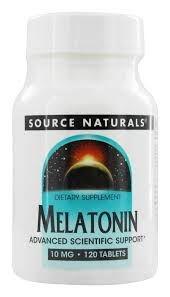 Melatonina 10 mg - Source Naturals- 120 comprimidos