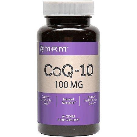 Coenzima Q10 (CoQ10) 100 mg  - MRM - 60 softgels