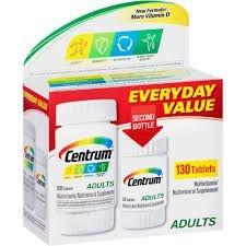 Centrum Adultos Pack com 130 comprimidos (Envio Internacional)