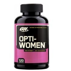Multivitaminico Optwomen - Optimum Nutrition - 120 Cápsulas (Envio Internacional)