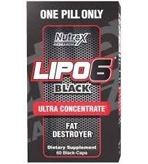 Lipo 6 Black Ultraconcentrado Nutrex 60 cápsulas - O Original! (Envio Internacional)