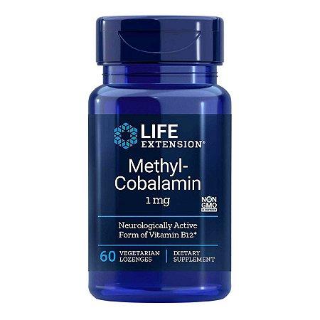 Methylcobalamin 1 mg - 60 Pastilhas - Life Extension (Envio Internacional 10-20 FRETE GRÁTIS