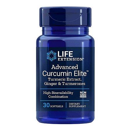 Advanced Curcumin Elite - 30 Cápsulas em Gel - Life Extension (Envio Internacional 10-20 FRETE GRÁTIS)