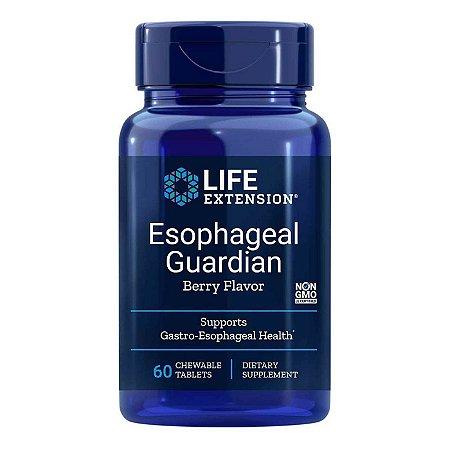 Guardião Esofágico - 60 comprimidos mastigáveis -Life Extension (Envio Internacional 10-20 FRETE GRÁTIS)