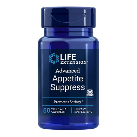 Suprimir o apetite natural avançado - 60 cápsulas vegetarianas - Life Extension (Envio Internacional 10-20 FRETE GRÁTIS)