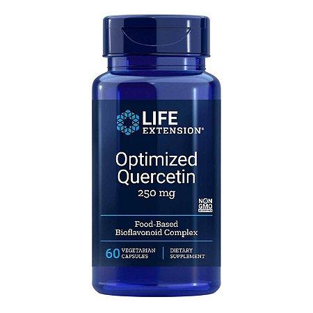 Quercetina Otimizada - 60 Cápsulas Vegetarianas - Life Extension   (Envio Internacional 10-20 FRETE GRÁTIS)