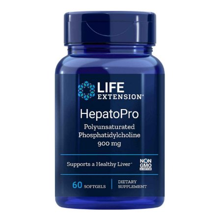 HepatoPro - 900 mg - 60 Cápsulas em Gel -  Life Extension   (Envio Internacional 10-20 FRETE GRÁTIS)