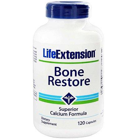 Restauração óssea - 120 cápsulas - Life Extension   (Envio Internacional 10-20 FRETE GRÁTIS)