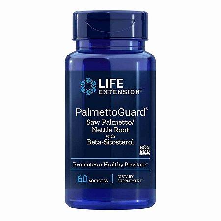 PalmettoGuard - 60 Cápsulas em Gel - Life Extension   (Envio Internacional 10-20 FRETE GRÁTIS)
