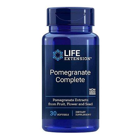 Romã Completa - 30 Cápsulas em Gel - Life Extension   (Envio Internacional 10-20 FRETE GRÁTIS)
