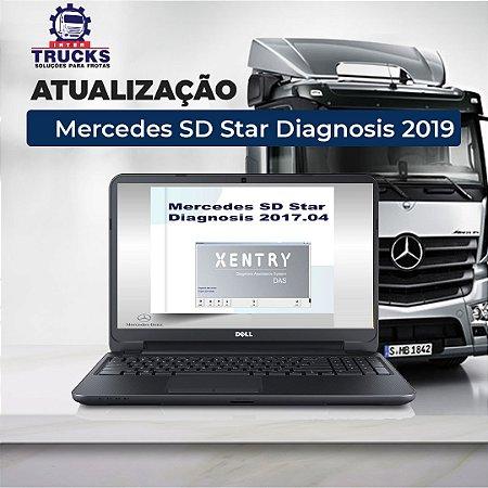 ATUALIZAÇÃO - Mercedes SD Star Diagnosis Última Versão