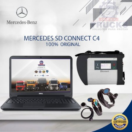 INTERFACE DIAGNÓSTICO  MERCEDES SD Connect C4