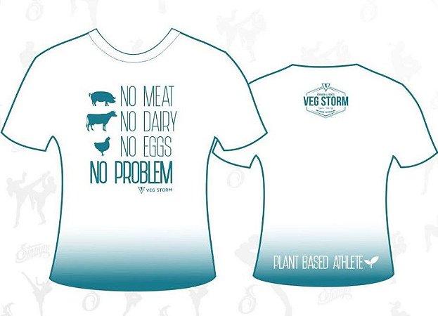 Camiseta Branca No Meat