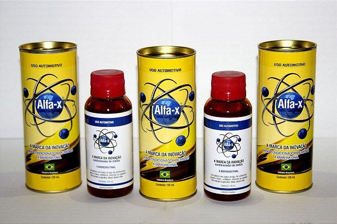 Alfa-X Condicionador de Metais por R$65,00 - 03 unidades PROMOCIONAIS