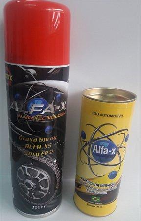 Alfa-X Condicionador de Metais + Graxa Performace 300ml por 169,90