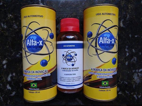 Alfa-X Condicionador de Metais por R$84,90 - 02 unidades PROMOCIONAIS