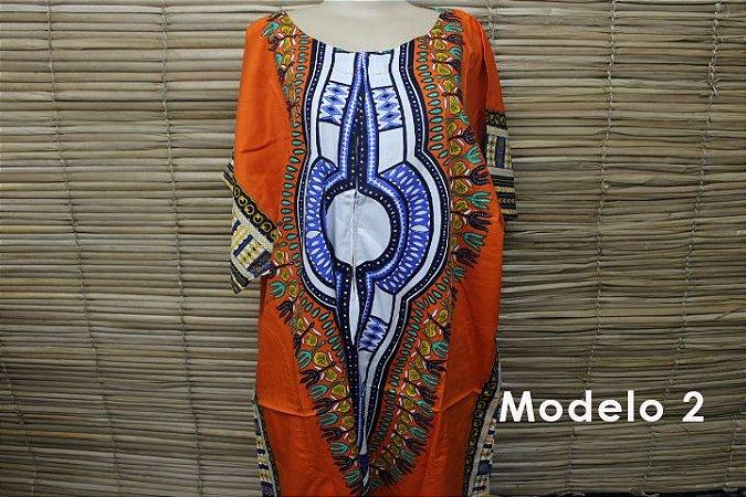 Vestido Longo Africano