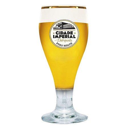 Taça de Cristal Amber 250ml - Cidade Imperial