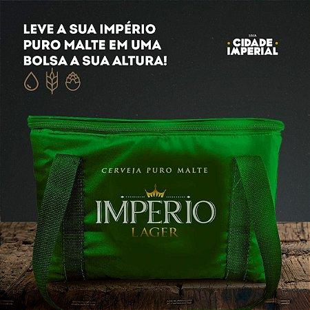 Bolsa Térmica 15 litros Verde - Império Lager