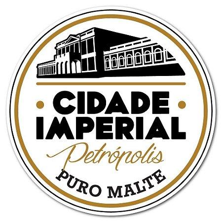 Adesivo Redondo 8cm - Cidade Imperial