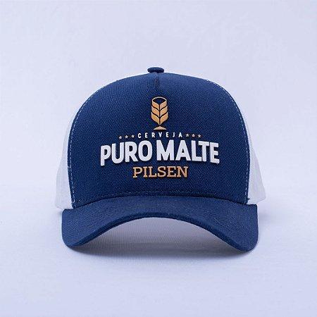 BONÉ PURO MALTE COM AJUSTADOR ZIPERBACK
