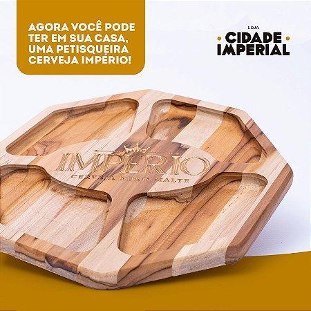 PETISQUEIRA DE MADEIRA 29cm - CERVEJA IMPÉRIO
