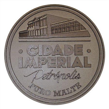 Quadro Artesanal MDF em alto relevo da Cervejaria Cidade imperial