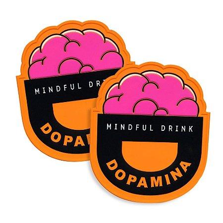 12 Porta Copos de Borracha Dopamina