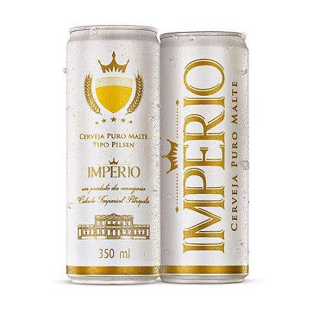 Cerveja Império Puro Malte Tipo Pilsen Lata 350ml