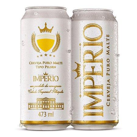Cerveja Império Puro Malte Tipo Pilsen Lata 473ml