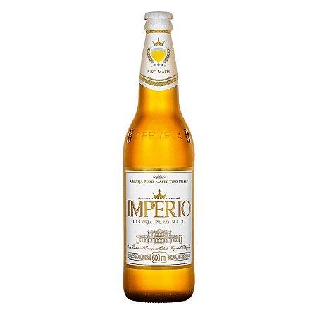 Cerveja Império Puro Malte Garrafa 600ml