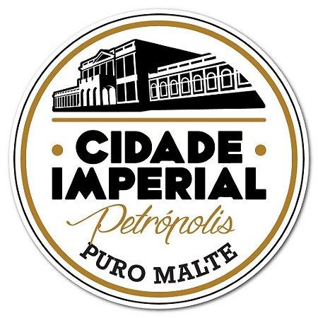 12 Porta Copos de Papelão Cerveja Cidade Imperial Impresso Frente e Verso