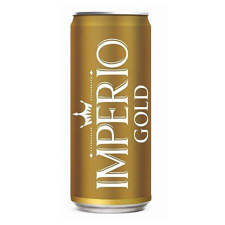 Cerveja Império Gold Puro Malte Lata 269ml