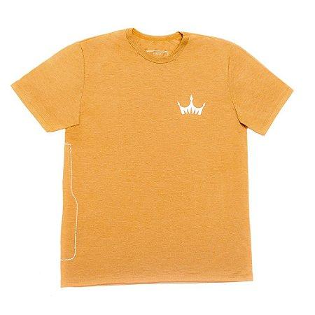Camiseta MASCULINA Cerveja Império Gold Dourada