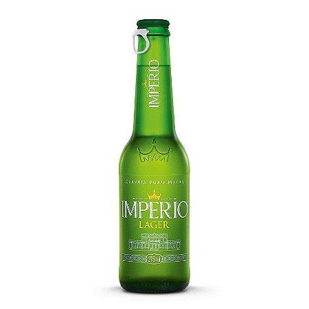 Kit Império com 6 Cervejas Império Lager + 1 Taça + 1 Boné