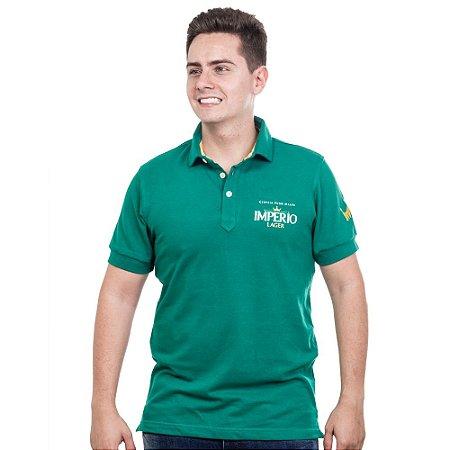 Camiseta Polo Império Lager em Alto Relevo