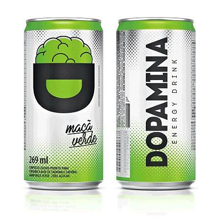 Dopamina Energy Drink 269ml - Maçã Verde