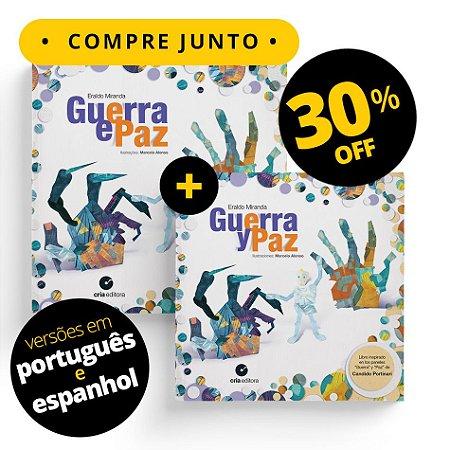 Guerra e Paz - Em Espanhol e Português - Compre Junto - 2 livros - 30% OFF