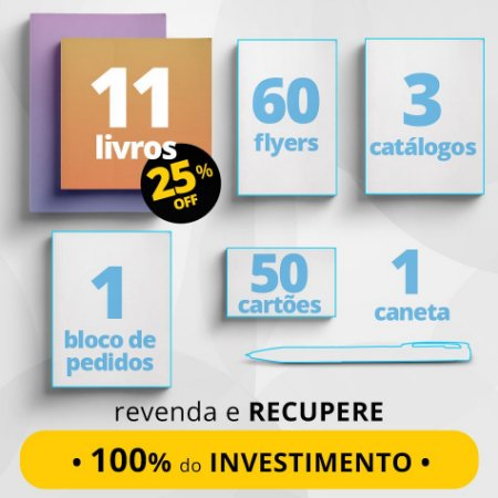 COMBO EXECUTIVO - Material de divulgação do Consultor de Leitura + 11 livros com 25% de desconto