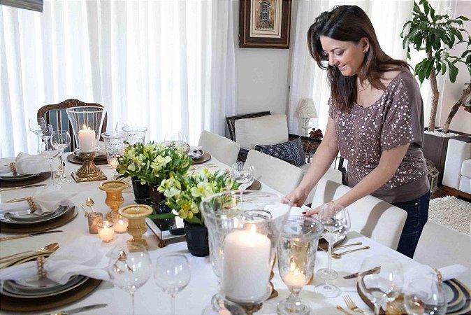 Receber bem e etiqueta a mesa online
