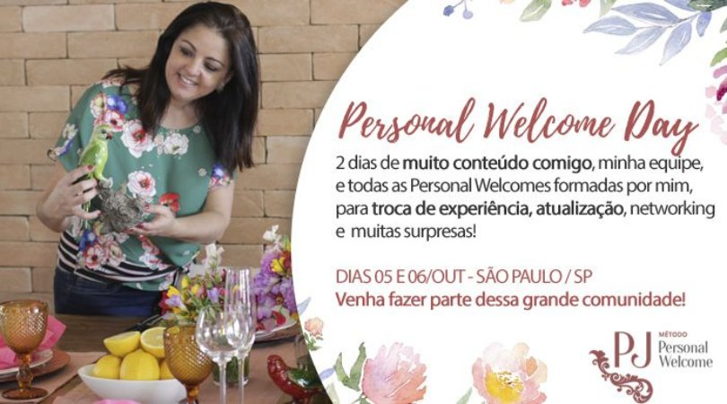 PERSONAL WELCOME DAY