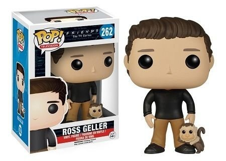 Bonecos Funko Pop Brasil - Friends - Ross Geller