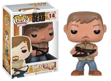 Bonecos Funko Pop Brasil - The Walking Dead - Daryl Dixon