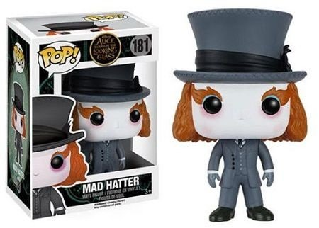 Bonecos Funko Pop Brasil - Alice Through the Looking Glass - Mad Hatter