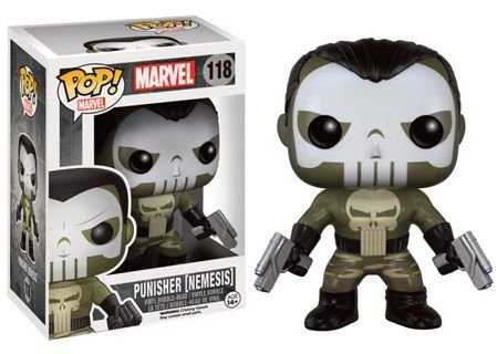 Bonecos Funko Pop Brasil - Marvel - Punisher Nemesis - Exclusive