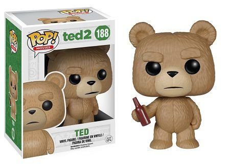 Bonecos Funko Pop Brasil - Ted 2 - Ted with Beer