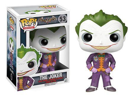 Bonecos Funko Pop Brasil - DC Comics - Arkham Asylum - The Joker