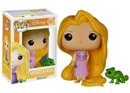 Bonecos Funko Pop Brasil - Disney - Rapunzel & Pascal