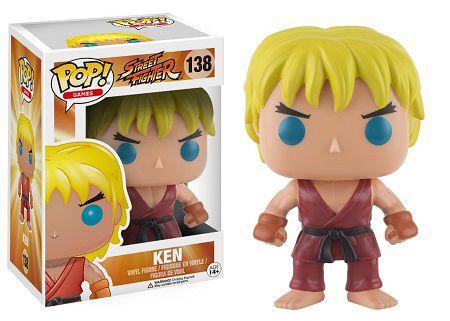 Bonecos Funko Pop Brasil - Street Fighter - Ken