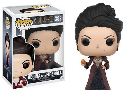 Bonecos Funko Pop Brasil - Once Upon A Time - Regina with Fireball